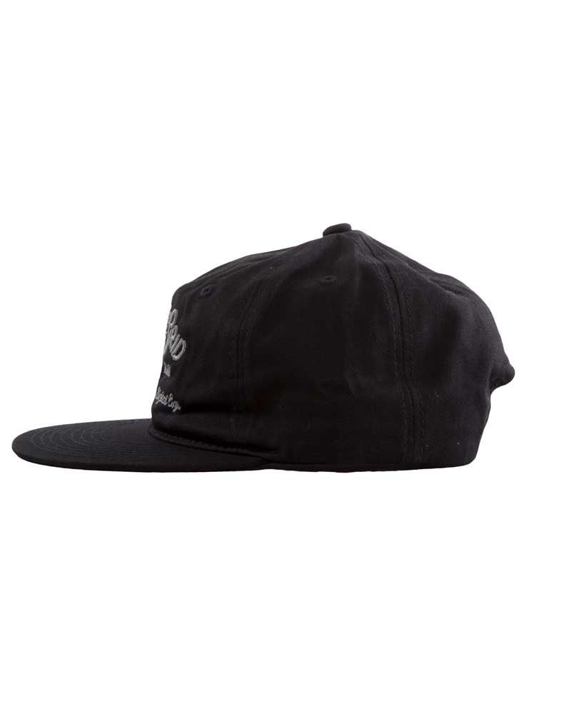 Tribal-Living-Unstructured-Hat-BLACK-SIDE-OFF-THE-GRID