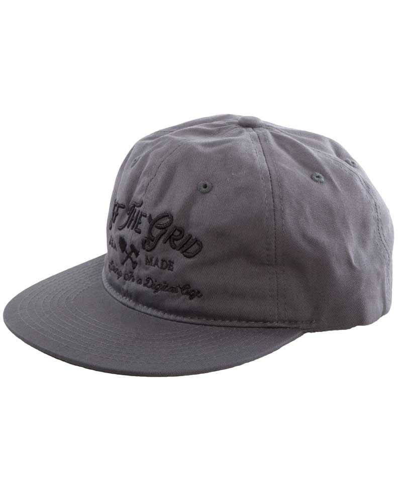 Tribal-Living-Unstructured-Hat-Grey-OFF-THE-GRID