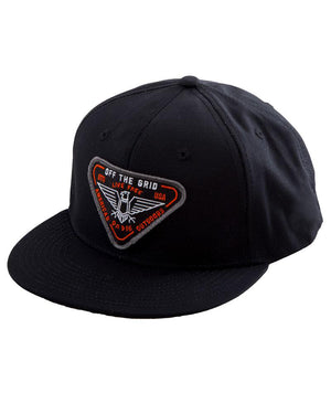 Where Eagles Dare Ripstop Snapback Hat - 3 Colors