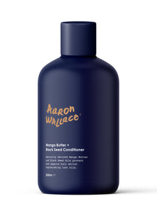 AARON WALLACE Mango Butter + Black Seed Conditioner (250ml)