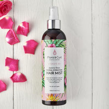 Load image into Gallery viewer, FLORA & CURL Jasmine Oasis Hydrating Hair Mist (250ml)