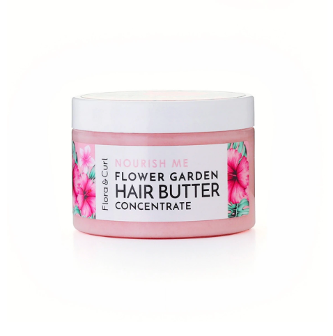 FLORA & CURL Flower Garden Hair Styling Butter (120g)