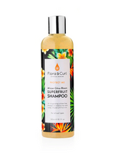 Load image into Gallery viewer, FLORA & CURL African Citrus Superfruit Shampoo (300ml)