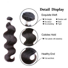 Load image into Gallery viewer, LONDON VIRGIN HAIR Luxury Body Wave Bundles