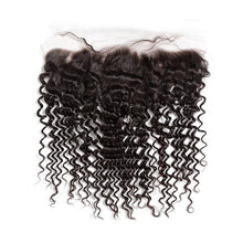 Load image into Gallery viewer, LONDON VIRGIN HAIR Luxury Transparent Lace Free Part Frontal 13X4