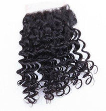 Load image into Gallery viewer, LONDON VIRGIN HAIR Luxury Deep Wave Closure
