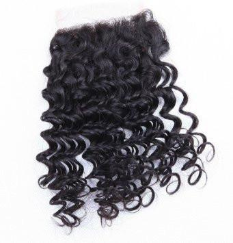 LONDON VIRGIN HAIR Luxury Deep Wave Closure
