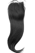Load image into Gallery viewer, LONDON VIRGIN HAIR Luxury Silk Base Free Part Closure