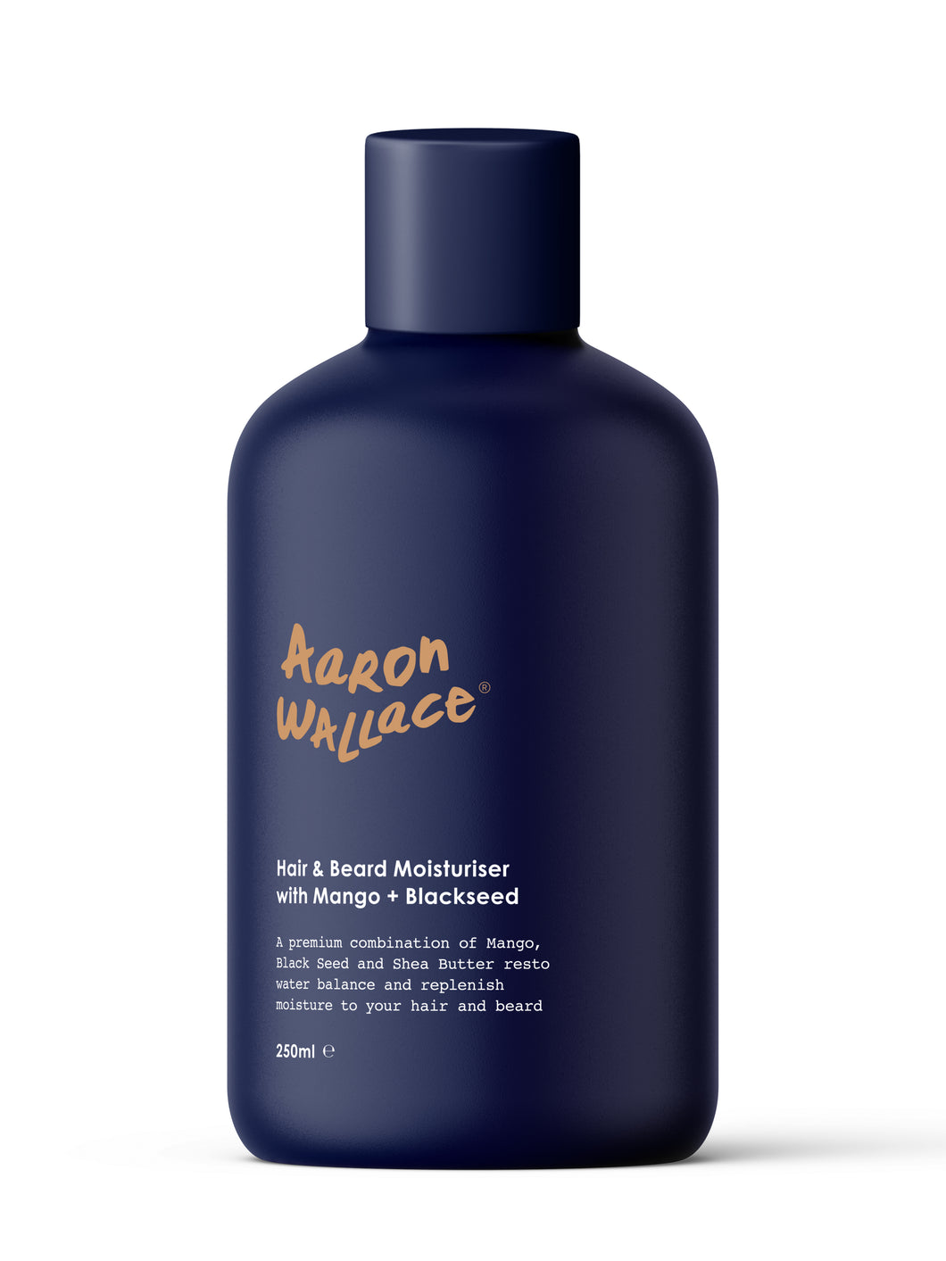 AARON WALLACE Hair & Beard Moisturiser With Mango Butter + Blackseed Oil (250ml)
