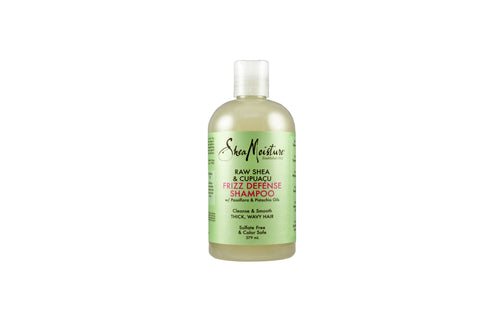 SHEA MOISTURE Raw Shea & Cupuacu Frizz Defense Shampoo Product Bottle