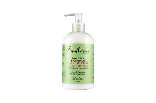 SHEA MOISTURE Raw Shea & Cupuacu Frizz Defense Conditioner Product Bottle