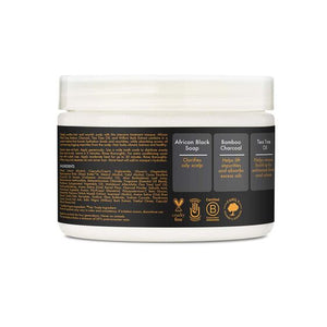 SHEA MOISTURE African Black Soap Bamboo Charcoal Purification Masque (340g)