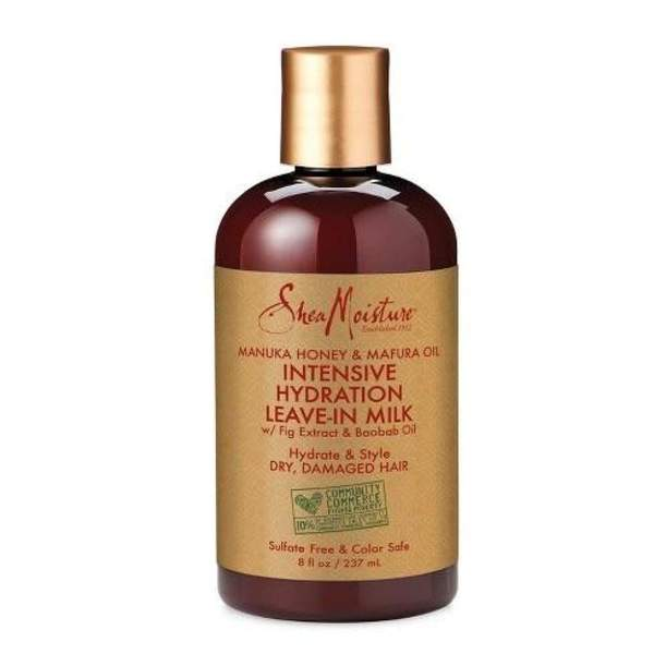 SHEA MOISTURE Manuka Honey & Mafura Oil Intense Hydration Leave in Milk (237ml)