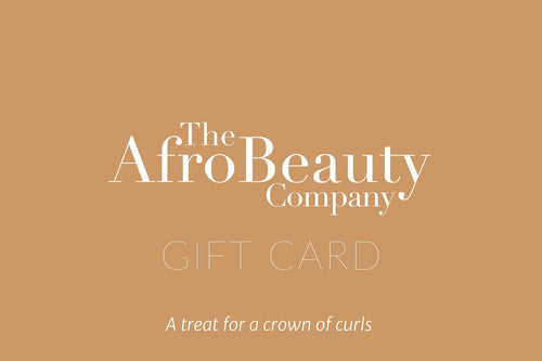 The Afro Beauty Gift Card