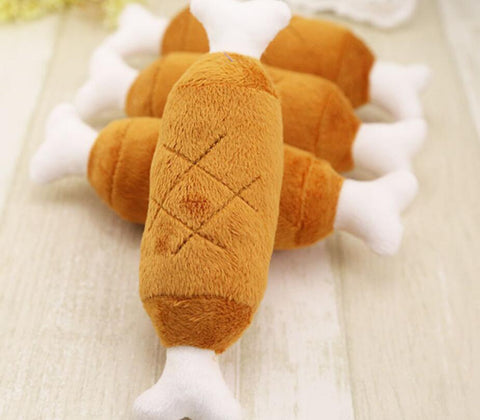Image of Chicken Legs Dogs Toy