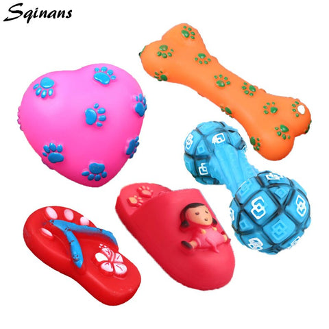 Image of Tough Squeaky Dog Toys
