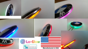 Lo-Glow LED Emblem Light for your BMW 73mm Emblem Badge