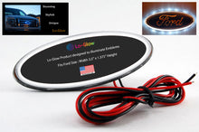 "Load image into Gallery viewer, Lo-Glow LED Emblem Light for your Ford 3.5"" Emblem Badge"