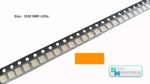 LED SMD SMT Light Chip 1210 PLCC-2 3528