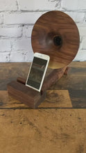 Load and play video in Gallery viewer, Walnut Sherlock Gramophone