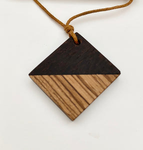Wood Necklace