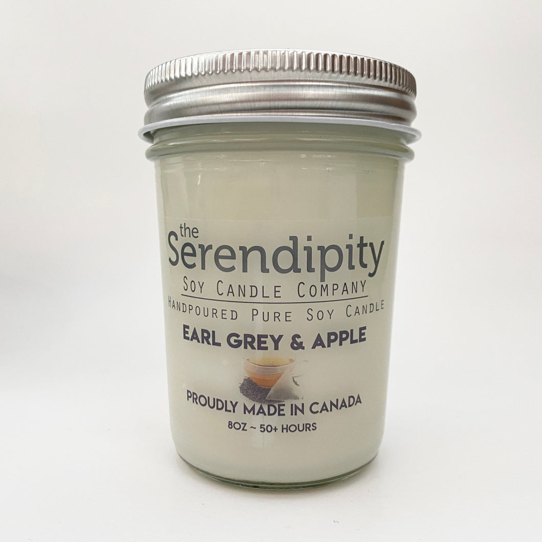 Earl Grey & Apple Soy Candle