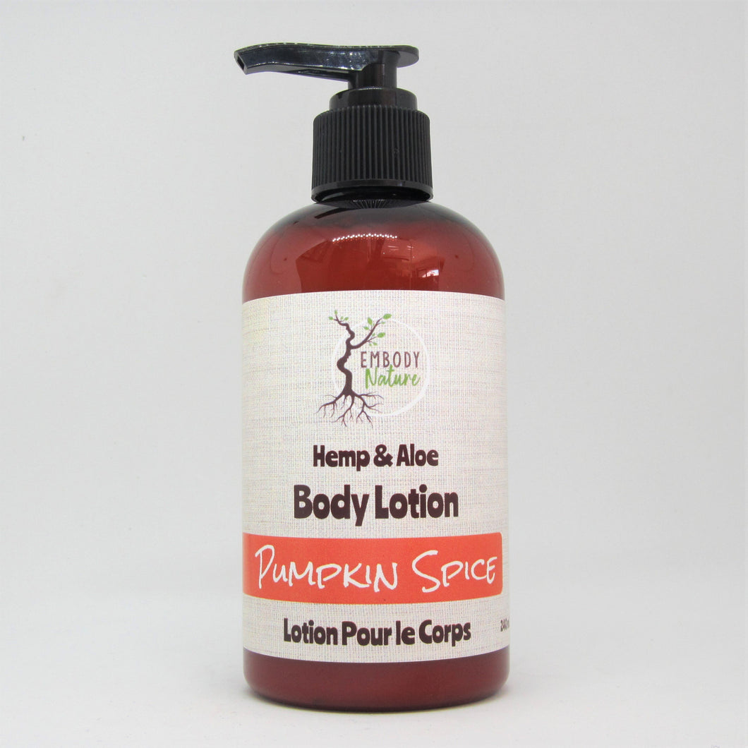 Pumpkin Spice-Hemp & Aloe Body Lotion