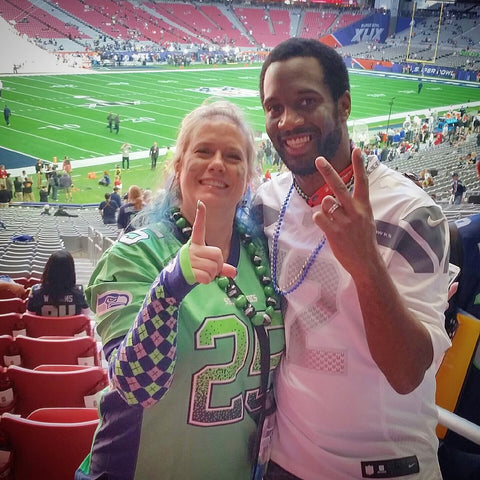 Richard Sherman Seattle Seahawks Super Bowl Experience Winner Angela