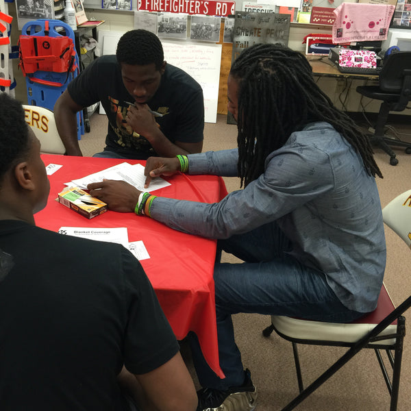 Richard Sherman and Blanket Coverage Talk to students of Thomas Jefferson High School
