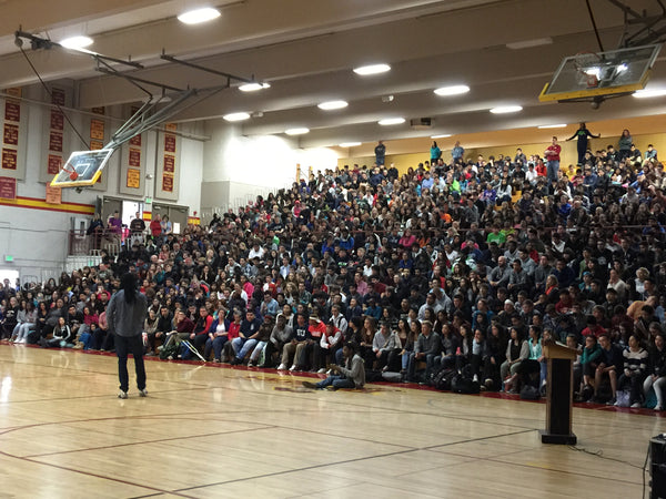 Richard Sherman Blanket Coverage High School Visit