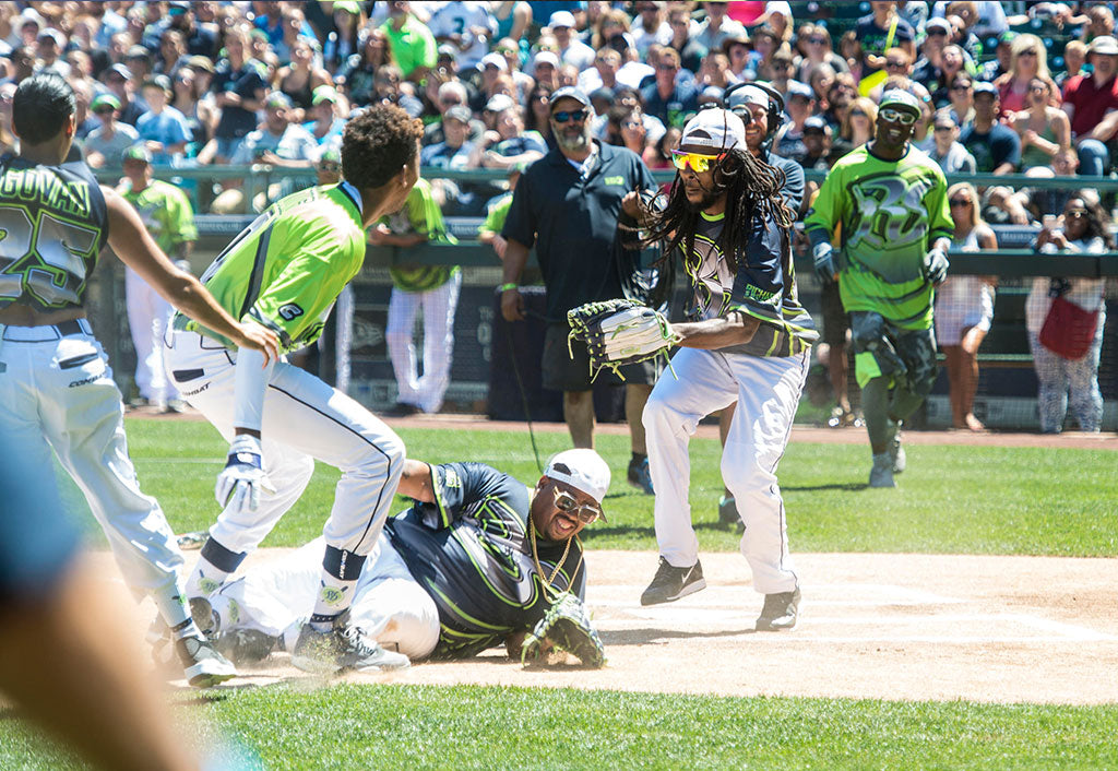 Celebrity Softball Game 2015 Official Video | Richard Sherman