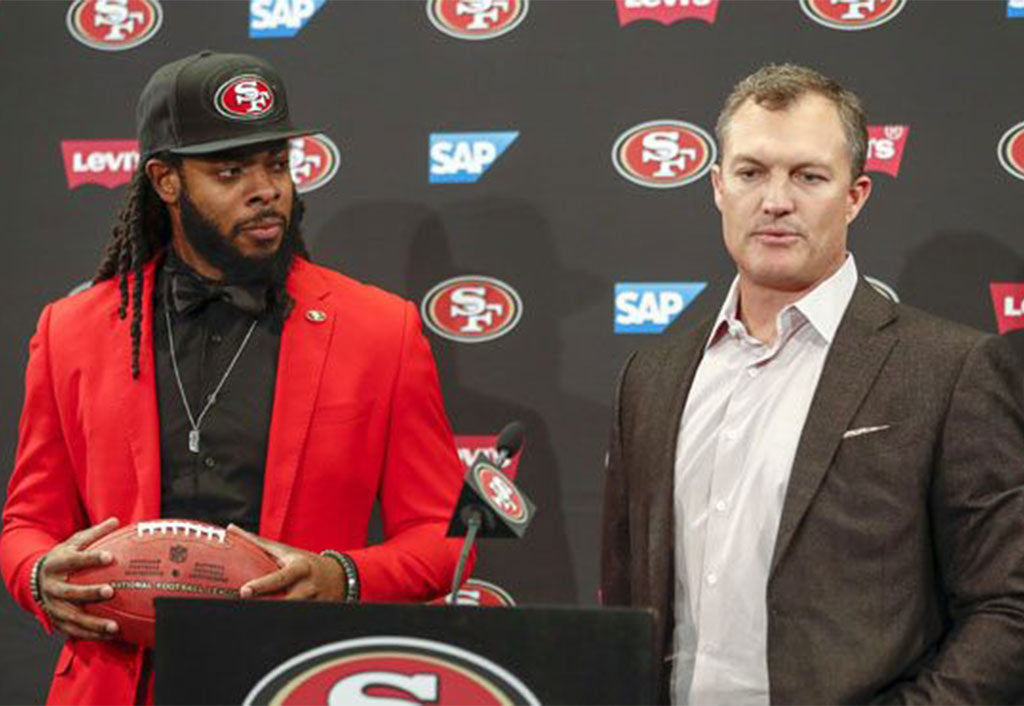 John Lynch and Richard Sherman Go Waaaay Back | Richard Sherman