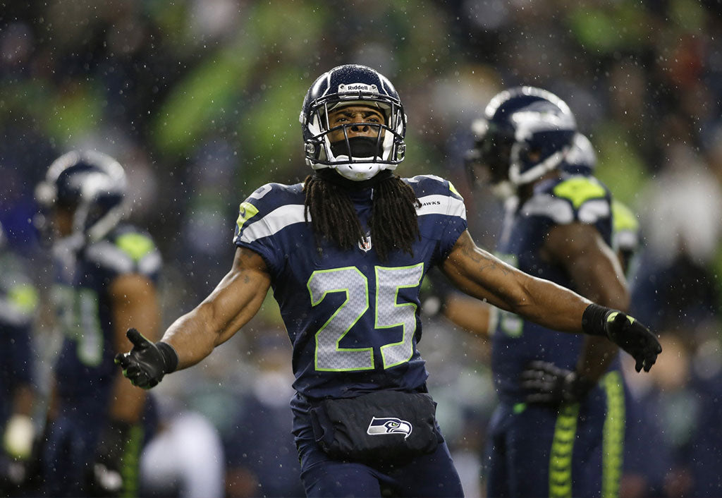 Richard Sherman gave his jersey to LeSean McCoy with a message of respect | Richard Sherman