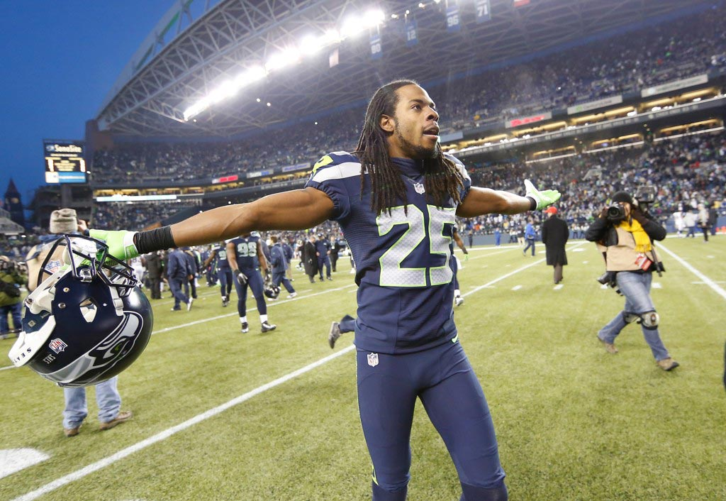 Richard Sherman backs Patriots: 'Everybody does things differently' | Richard Sherman