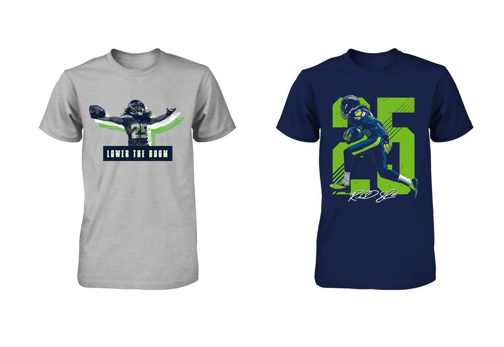 Mike Davis requests half off Richard Sherman's shirt deal | Richard Sherman