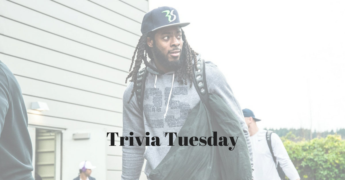 Trivia Tuesday | Richard Sherman