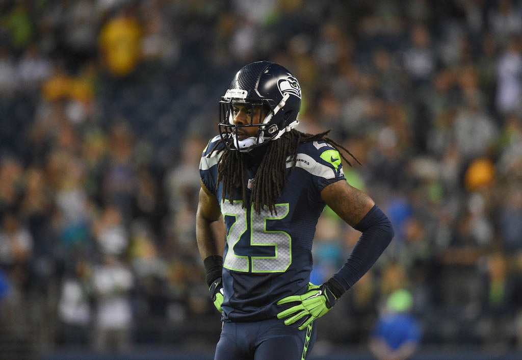 Watch Richard Sherman Dominate in High School Highlight Footage | Richard Sherman