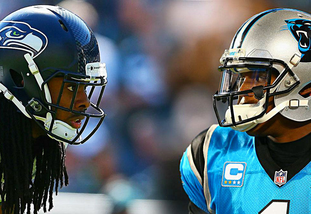 Pop-A-Shot Battle With Cam Newton | Richard Sherman