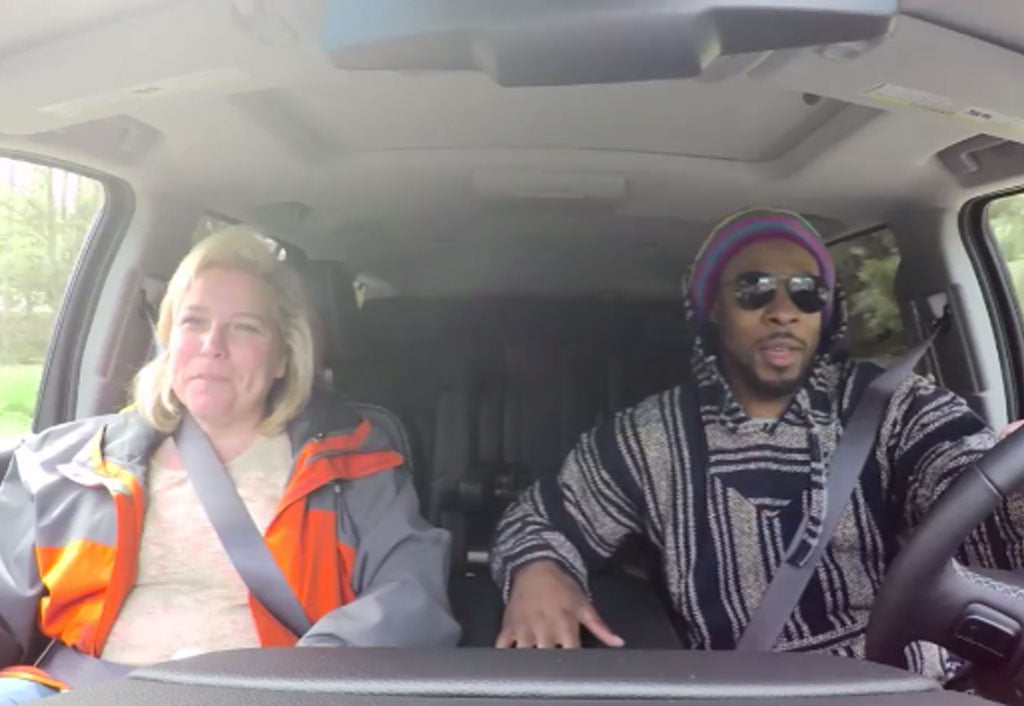 RICHARD SHERMAN UNDERCOVER LYFT DRIVER Hilariously Clowns Himself | Richard Sherman