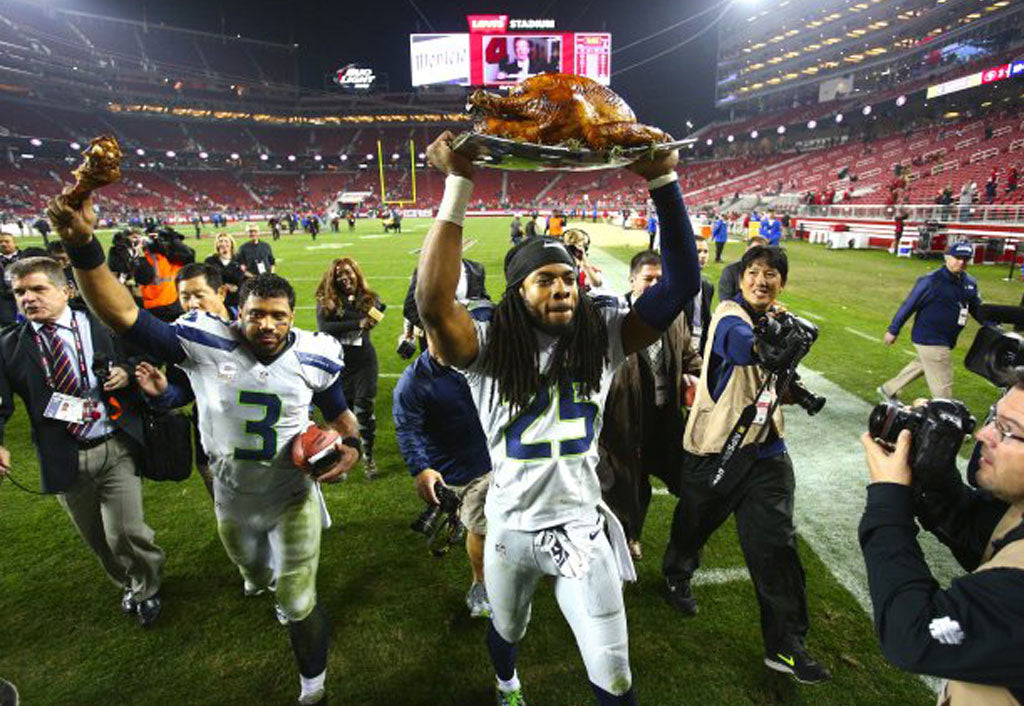 Happy Thanksgiving | Richard Sherman
