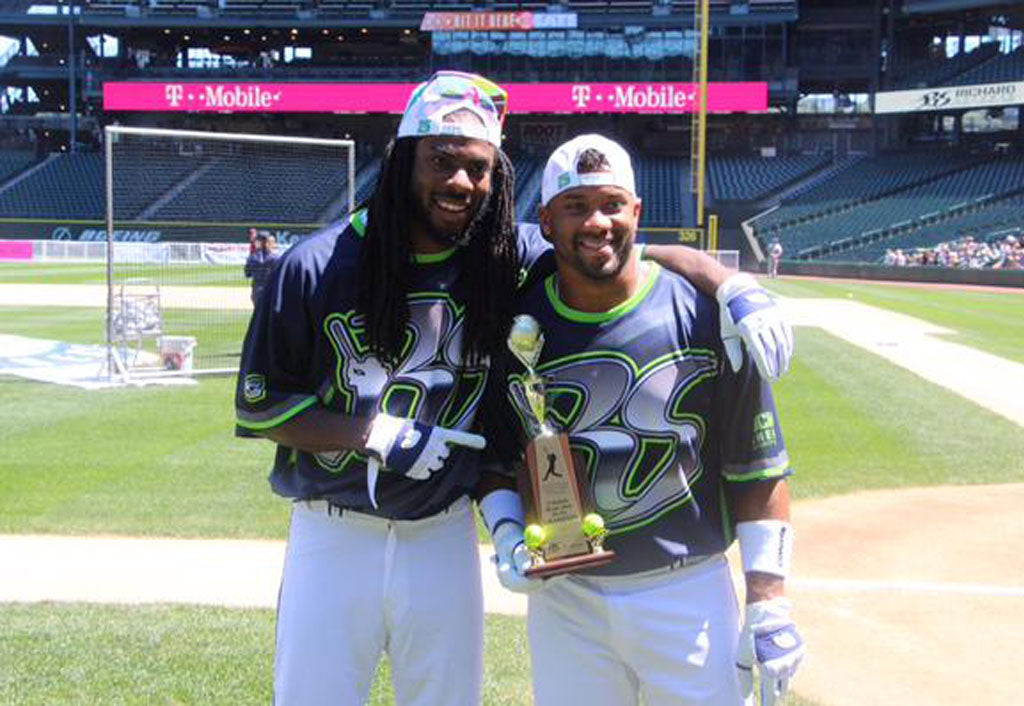 Celebrity Softball Game 2016 | Richard Sherman