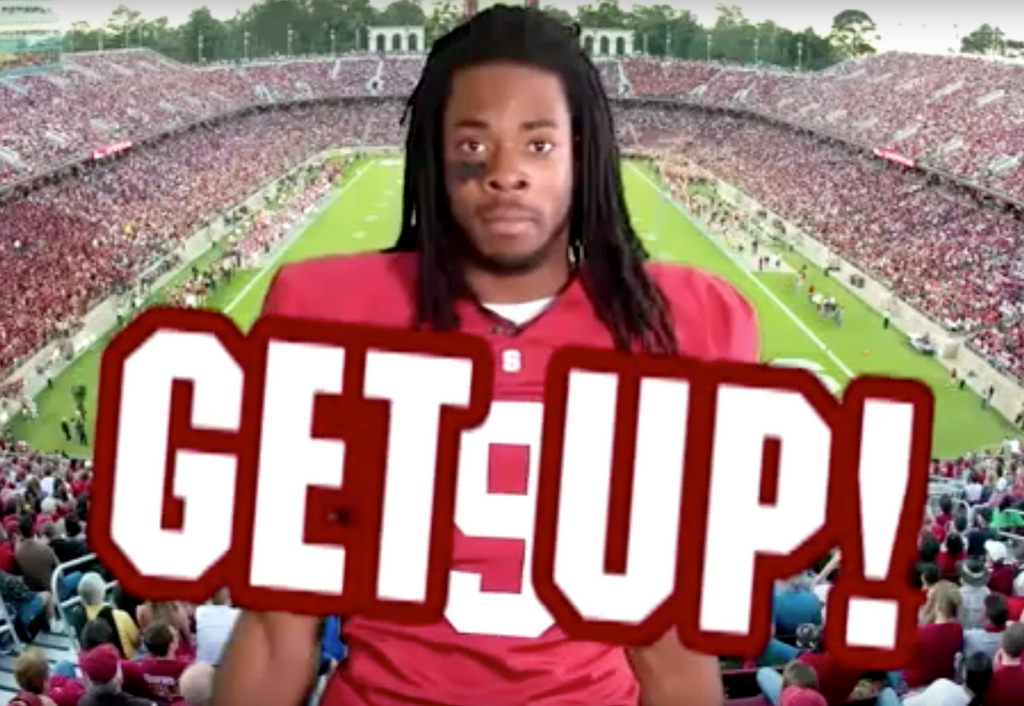 Get Up! | Richard Sherman