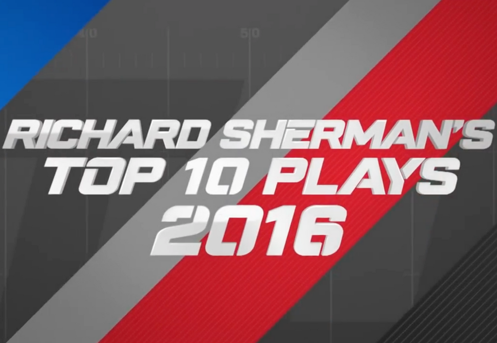 Top 10 Plays of the 2016 Season | Richard Sherman