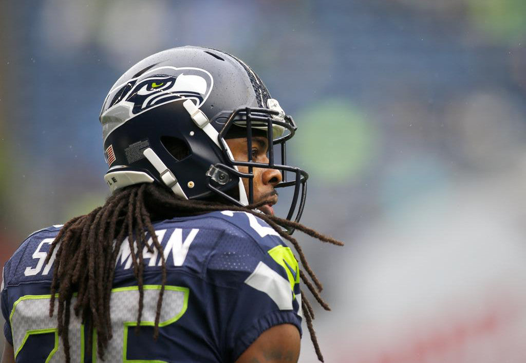 Richard Sherman explains sideline outburst vs. Falcons | Richard Sherman