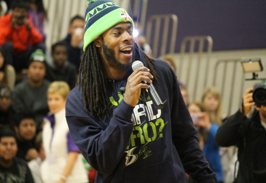 Nominate a Teacher to go to the Playoffs | Richard Sherman