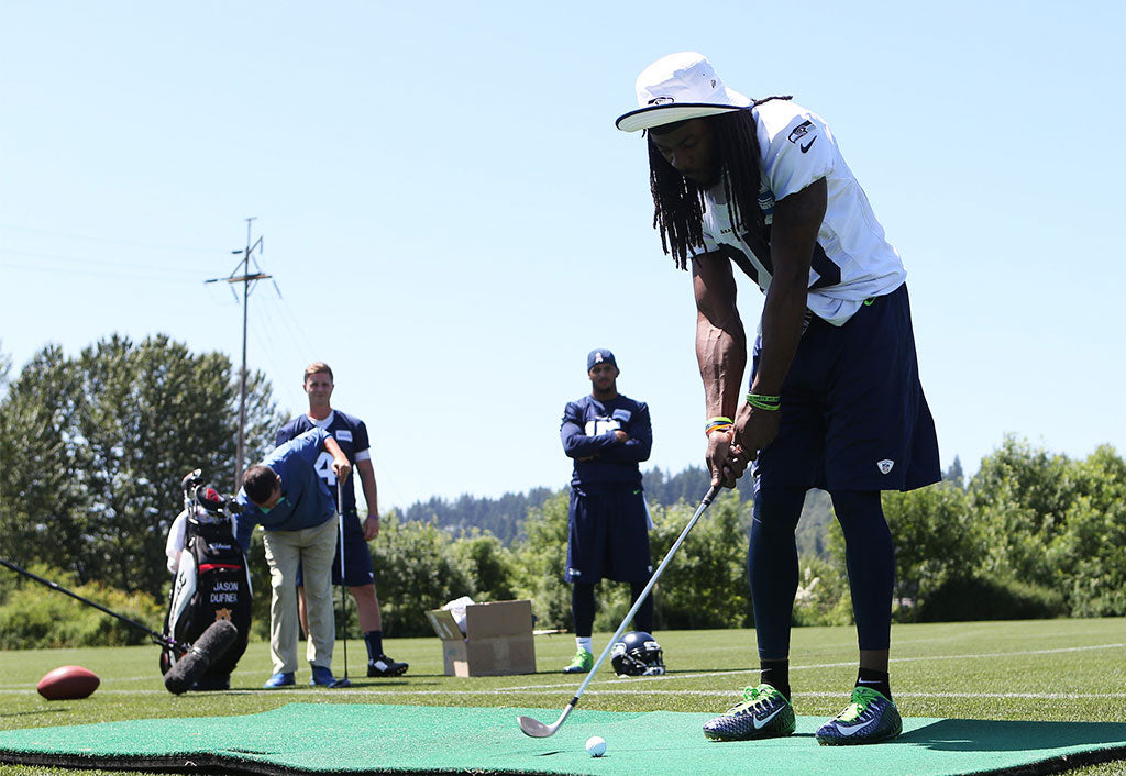 Golf Lessons from a Pro | Richard Sherman