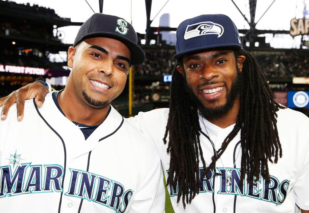Throwing the First Pitch | Richard Sherman