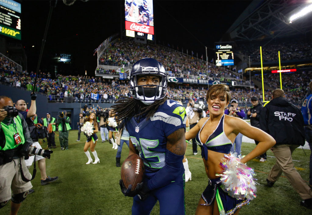 Richard Sherman Announces Seahawks Top in Gameday experience | Richard Sherman