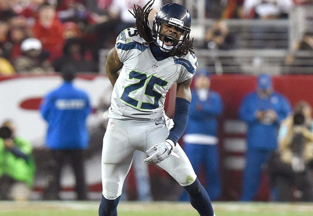 Seahawks defense suffocates Colin Kaepernick, 49ers in triumph | Richard Sherman