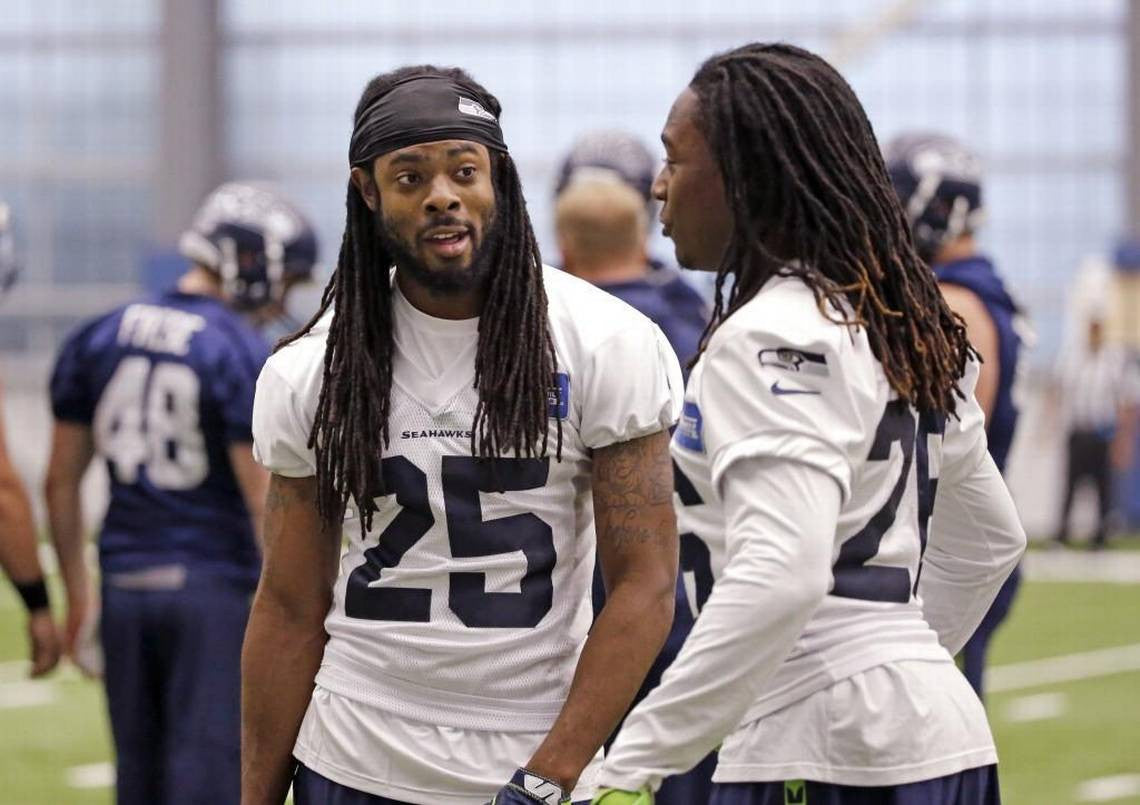 Here's what's going on at right cornerback entering this month's training camp | Richard Sherman